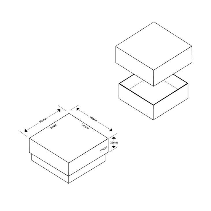 Bluebell Large Pendant/Earrings Box