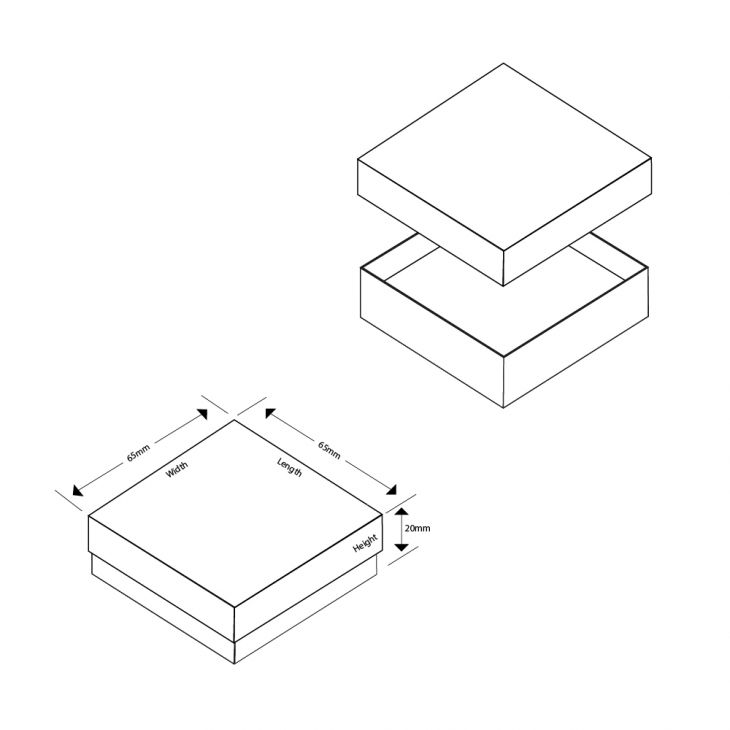 Lily Small Pendant/Earrings Box