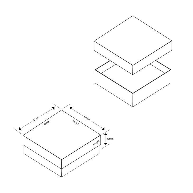 Lily Large Pendant/Earrings Box
