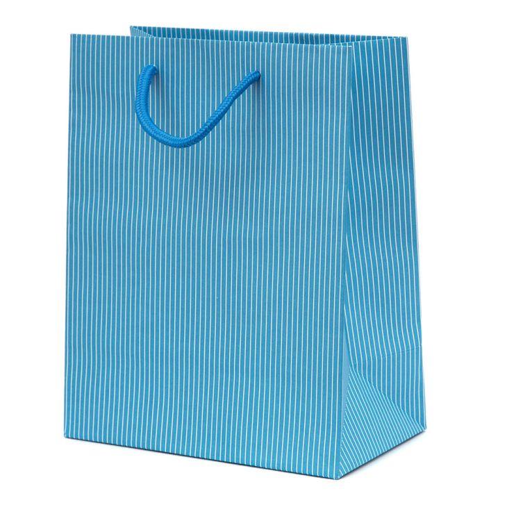 Large Luxury Matt Stripe Paper Gift Bag