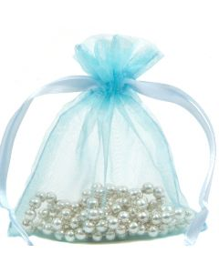 48 Small Premium Organza Gift Pouch (Clearance)