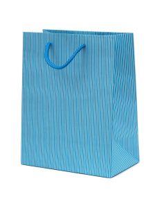 Small Luxury Matt Stripe Paper Gift Bag