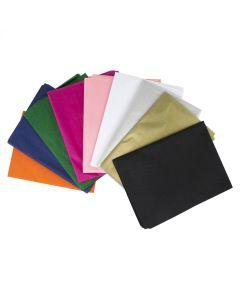 10 Coloured Tissue Paper